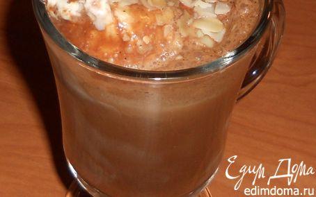 Рецепт Холодный кофе с шоколадом и мороженым
