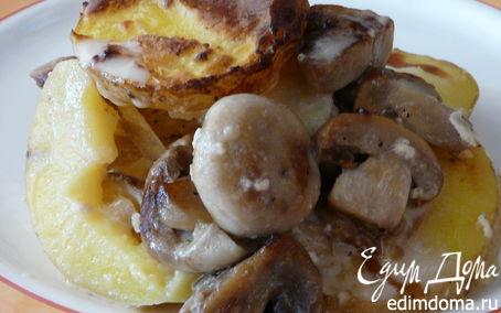 Рецепт Картофельно-грибной гратен