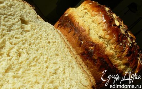 Рецепт Сладкий хлеб с апельсином и кардамоном