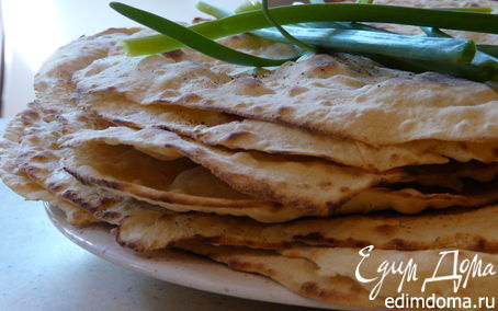Рецепт Домашние тортилья из муки