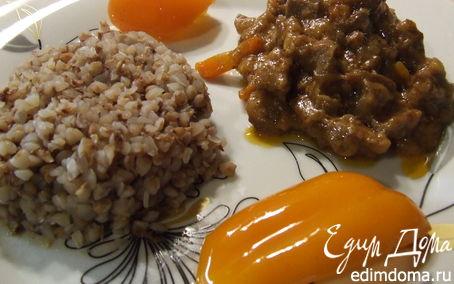 """Рецепт Мясо в соусе""""карри"""""""