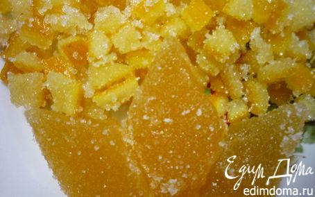 Рецепт Апельсиновые цукаты и мармелад (повидло)