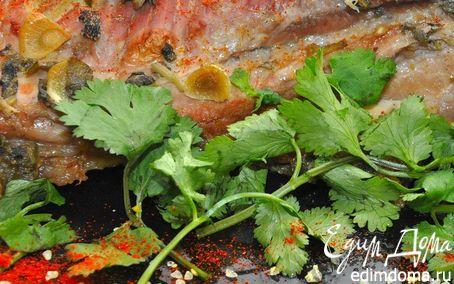 Рецепт Жаркое из свинины с шалфеем и медом.