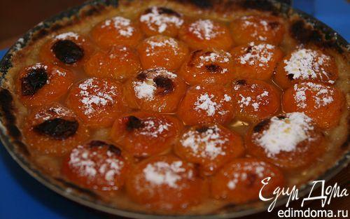 Рецепт Песочный пирог с абрикосами