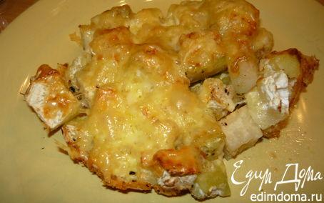 Рецепт Кольраби под сухарно-сырной корочкой