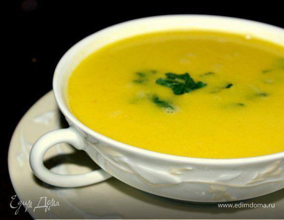 Острый цитрусово-кокосовый суп