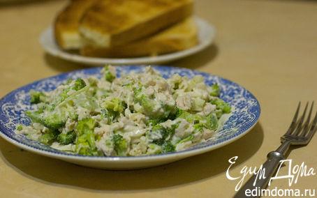 Рецепт Салат из брокколи