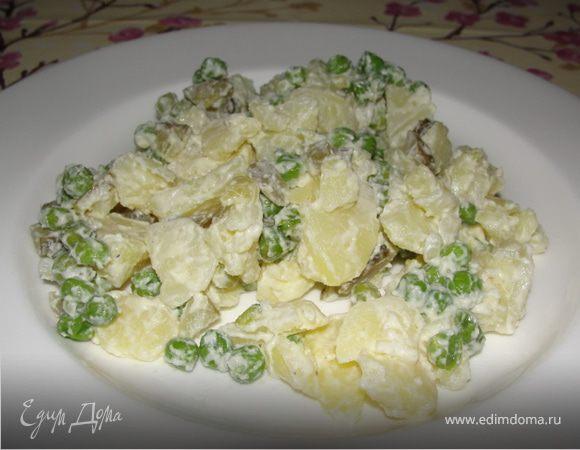 Картофельный немецкий салат