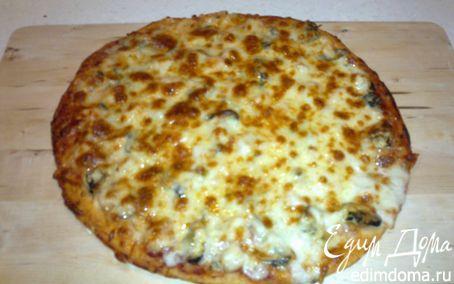 Рецепт Пицца морская