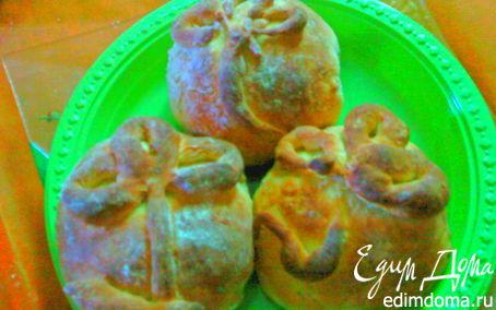Рецепт Пирожки со сладким мясным фаршем