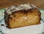 Бостонский пирог в шоколадной глазури