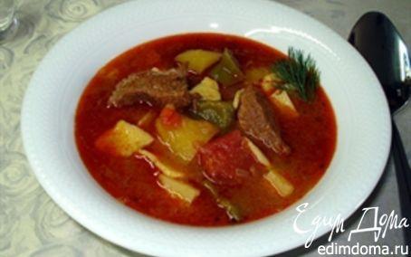 Рецепт Венгерский гуляш (бограчь гуяш)