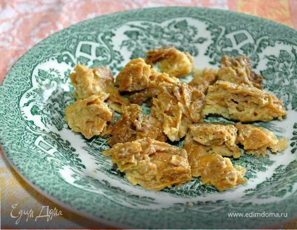 Миндально-карамельное печенье