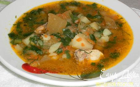 Рецепт Курица с картофелем и кабачками