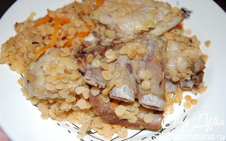 Рецепт Восточные вариации на тему баранины с чечевицей.