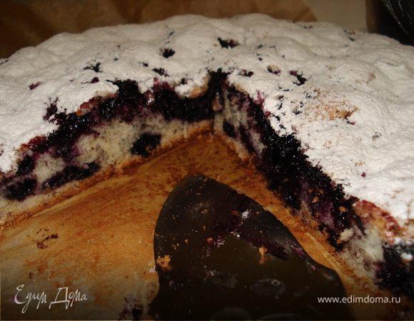 Легкий фруктовый пирог