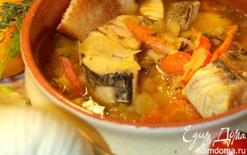 Рецепт Рыбный суп а-ля буйабес