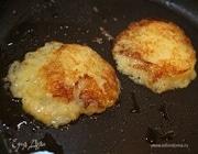 Литовские картофельные блины со сметаной