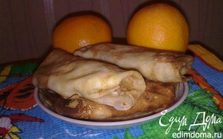 Рецепт Апельсиновые блинчики