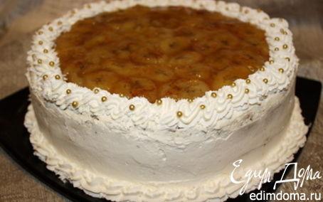 Рецепт Шоколадно-банановый торт