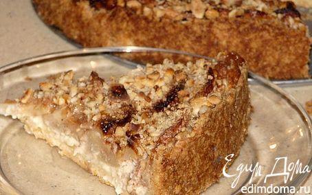 Рецепт Датский яблочный чизкейк