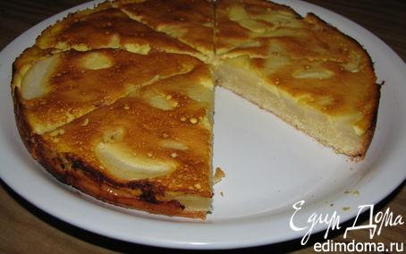 Рецепт Грушевый пирог с медом