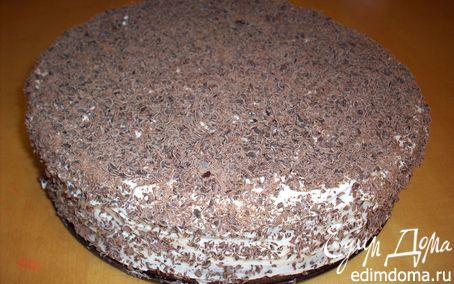 Рецепт Тортик из медового бисквита