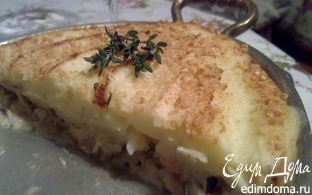 Рецепт Рыбно-картофельная запеканка