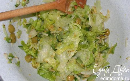 Салат с курицей классический простой рецепт в домашних условиях
