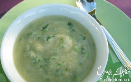 Рецепт Суп из артишока и кресс-салата «Вечная молодость»