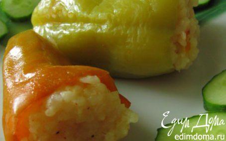 Рецепт Перчик фаршированный рисом
