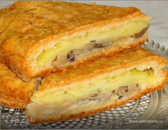 Пирог начинкой пошаговый рецепт