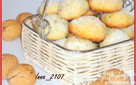 Рецепт Печенье сливочное с орехами