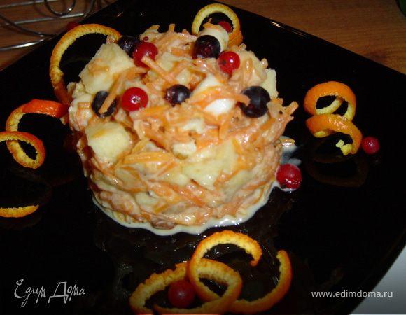 Десертный салат