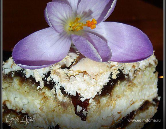 """Торт """"Цветы в пустыне"""""""
