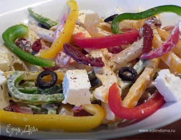 средиземноморский салат рецепт фото