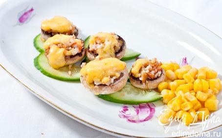 Рецепт Грибная закуска с морской начинкой