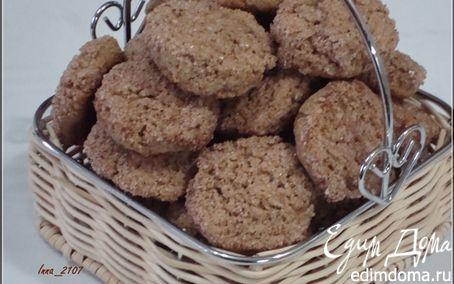 Рецепт Печенье с гречневой мукой на сметане