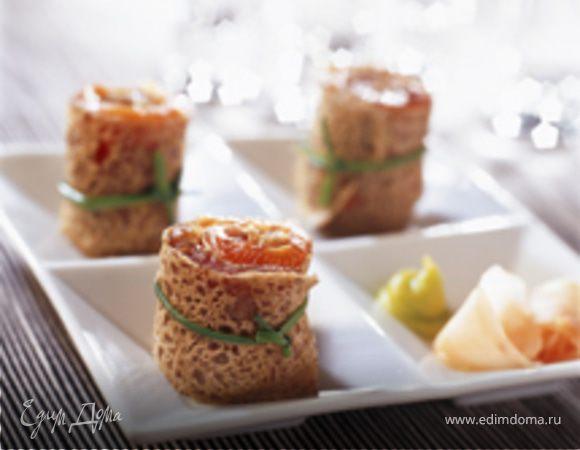 Galette sashimi