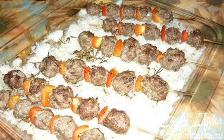Рецепт Бараньи шарики на шпажках