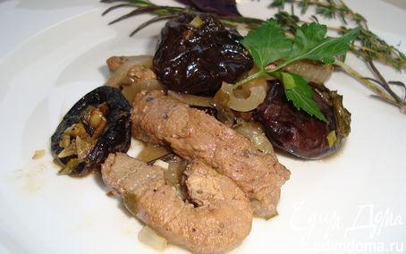 Рецепт Ароматная свинина с черносливом