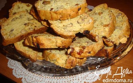 Рецепт Бискотти с кардамоном