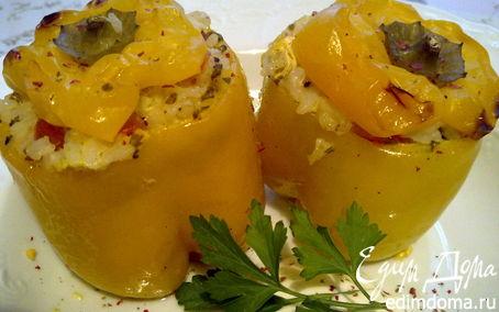 Рецепт Апульский фаршированный перец (Peperoni repieni alla pugliese)
