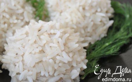 Рецепт Рисовые шарики с пряной курицей в пароварке