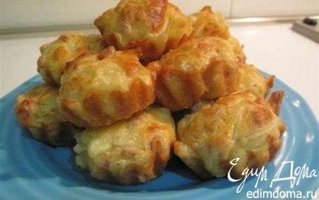 Рецепт Пикантные кексики