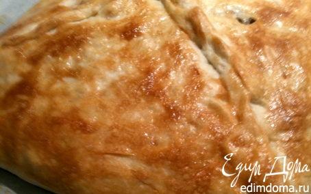 Рецепт Пирог с грибами и рыбой