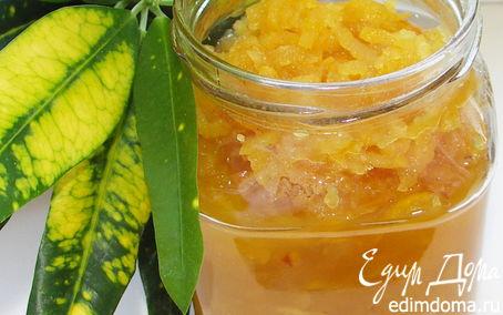 Рецепт Конфитюр из айвы с апельсиновым соком