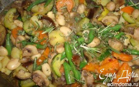 Рецепт Овощное рагу с шампиньонами