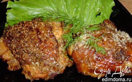 Рецепт Цыпленок в кунжуте