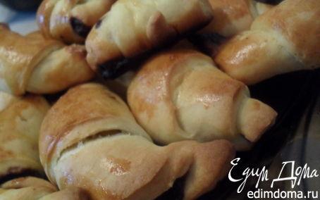 Рецепт Круассаны с шоколадом